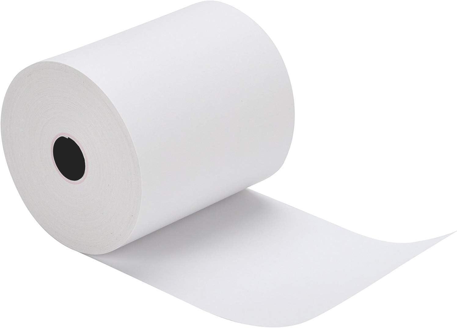 50 Rolls PAPRMA 2 1//4 x 50 Receipt Paper Rolls POS Thermal Paper Cash Register Paper Rolls CORELESS