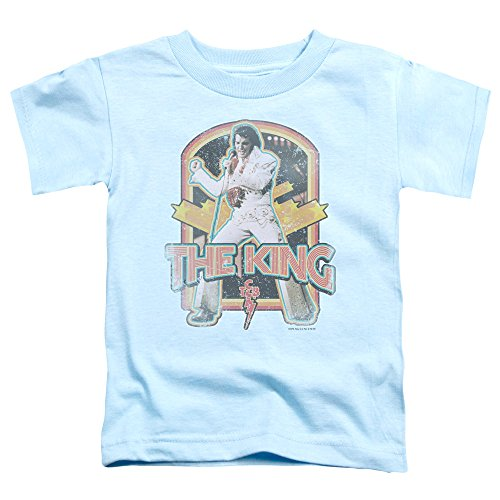 Elvis Distressed King Toddler T-Shirt