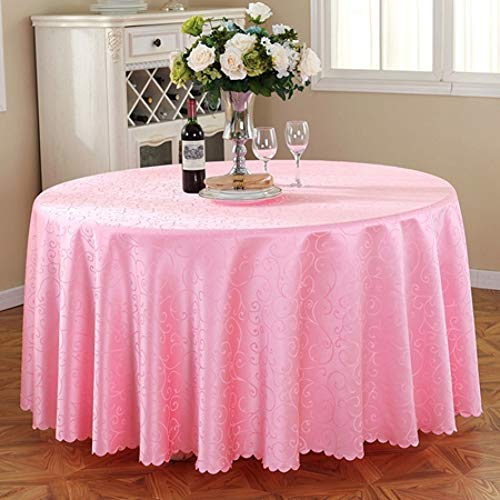 (MZFZB Tablecloth Polyester Round Table Cloth Pattern Fabric Multi-Functional Cloth Tablecloth Machine Washable Wedding Table Cloths)
