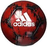 Adidas Planeador 2 - Balón de fútbol (Potencia: Rojo/Negro/Blanco, 5 Unidades)