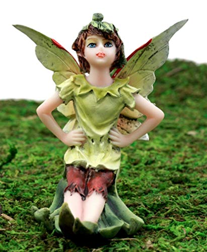 Ky & Co YK Enchanted Fairy Garden Tinkerbell Wishing Fairy Figurine 3.5