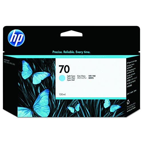 HP 70 (C9390A) Light Cyan Original Ink Cartridge