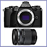 OM-D E-M5 Mark II Mirrorless Micro Four Thirds Digital Camera (Body, Black) + Olympus M.Zuiko ED 14-150mm f/4-5.6 II Lens (Certified Refurbished)