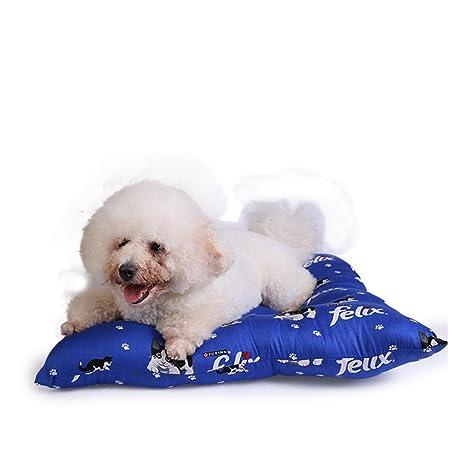 Dixinla Cama de Perro Algodón Cuatro Lados Mascotas Nido cálido Perrera Perro Mat, 60 cm