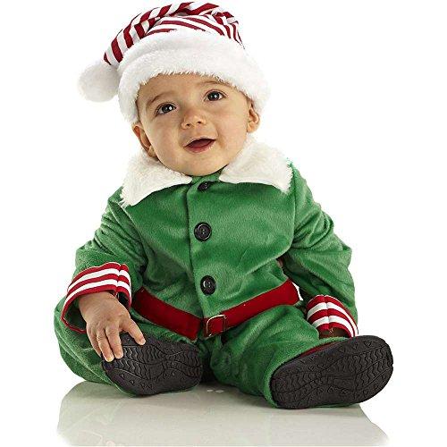 Elf Outfit For Toddler (Elf Boy Toddler Costume - Large)