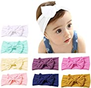 LucaSng Baby Headbands Baby Girls Hairband Newborn Baby Girl Headbands and Bows, Hairband Turban for Baby Girl