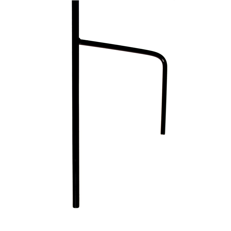 """7Penn Black Shepherds Hook 2pk, 92"""" Inch (Set of 2) Shepherds Hooks for Plant Hanger Bird Feeder Pole Lantern Stand by 7Penn (Image #6)"""