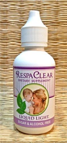 RespaClear (2 унции Бутылка) - респираторные инфекции, Congetstion, чихание, кашель. Беременность Безопасный Тоо. Акушерка утвержден.