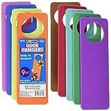 Darice 1022-89 Foam Door Hangers 9/Pkg-Assorted Colors