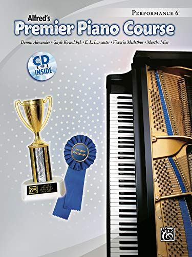 Premier Piano Course Performance, Bk 6: Book & CD