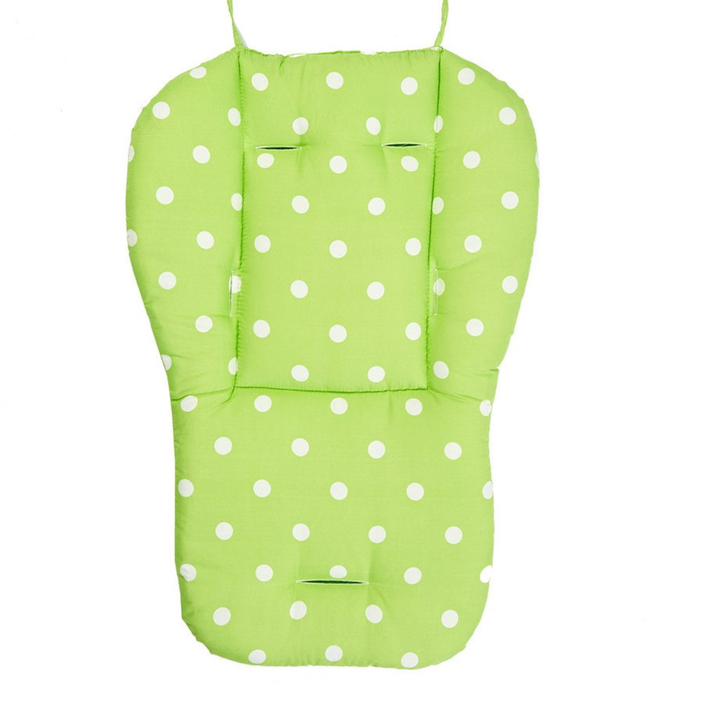 Cojín para asiento de bebé, silla de paseo infantil, cojín de lunares, alfombrilla universal para cochecito de bebé, cochecito de bebé, cochecito de bebé, cochecito de bebé, cochecito de bebé rosa rosa GEZICHTA