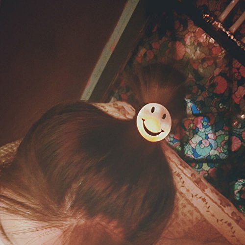 Generic Korean sm smiley Women Head hair rope Ties Ponytail Holder Band Hairband (happy every day) by Generic (Image #2)