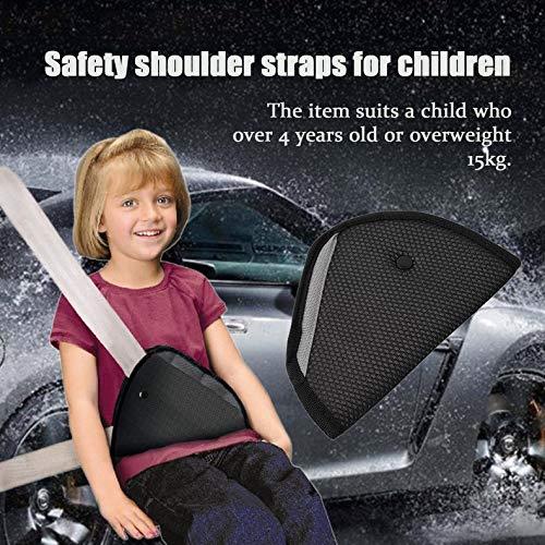 ghfcffdghrdshdfh Child Safety Cover Shoulder Harness Strap Adjuster Kids Seat Belt Clip