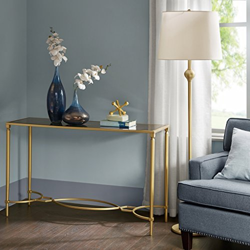 MADISON PARK SIGNATURE Console Table Antique Gold/See Below