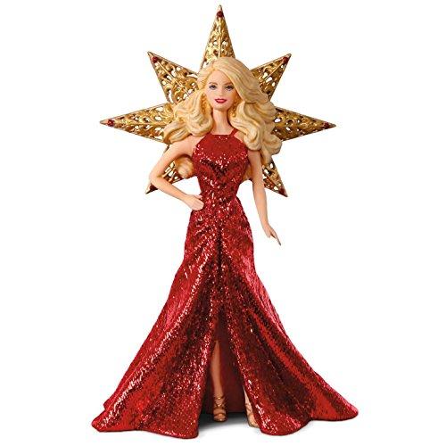 Hallmark Keepsake 2017 Holiday Barbie Christmas Ornament