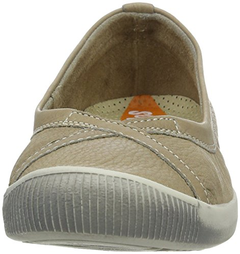 Flats Taupe Ilma Women's Beige Smooth Toe Ballet Closed Softinos nfwUYABqw