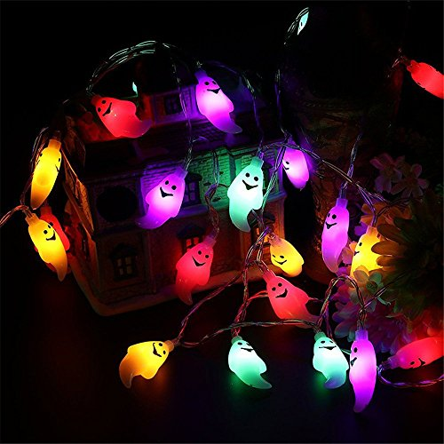 FuriGer Solar Garden string Lights, Outdoor Color Changing Solar Powered Glass Ball 20Led Party Light Outdoor Indoor Waterproof Solar Night Light Table Lamp for Decorations Ideal Gifts by FuriGer (Image #7)