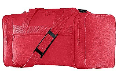 - Augusta Sportswear Classic Small Gear Bag OS Red