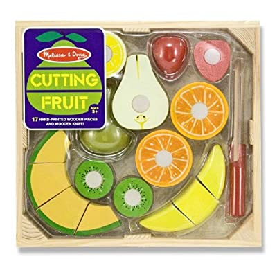 Melissa & Doug Cutting Fruit Set 17 pcs, Item #4021