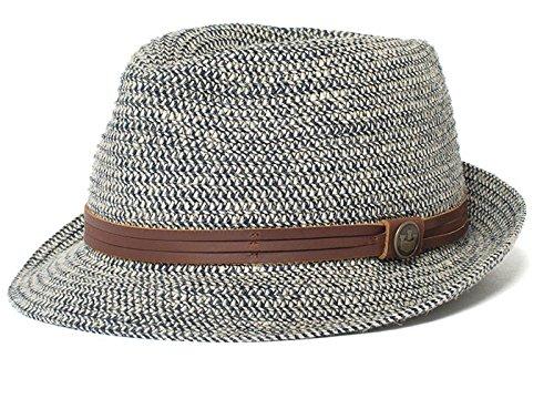 Blue Hemp Hat - Goorin Bros.. Men's Laying Low Hemp Blend Fedora, Navy, X-Large