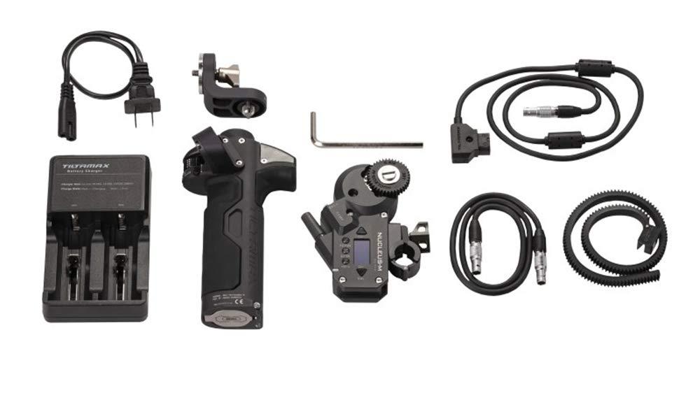 TILTA WLC-T03-K2 Nucleus-M Wireless Follow Focus Lens Control System Partial Kit II Right Handgrip WLC-T03-HR with Motor Nucleus-M Motor WLC-T03-M by Tilta