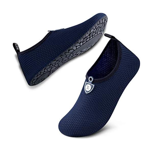 SIMARI Womens and Mens Water Shoes Quick-Dry Aqua Socks Barefoot for Outdoor Beach Swim Sports Yoga Snorkeling SWS002 14