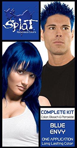 Splat Rebellious Semi Permanent Fantasy Complete Hair Color Kit in Blue Envy