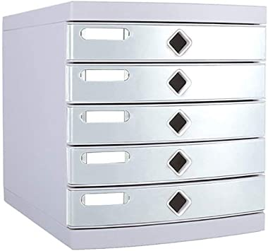 Almacenamiento de plástico cajones Unidad de Almacenamiento Organizador archivador A4 Caja for la Oficina/Color: Gris (Tamaño: 300 * 365 * 325 mm) Caja de Almacenamiento: Amazon.es: Electrónica