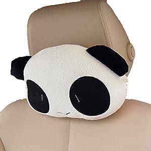 Cute Car Headrest Pillows : Amazon.com: Car Headrest Cute Cartoon Nursing Neck Panda Pillow (Free Size, MiMi Eyes): Home ...