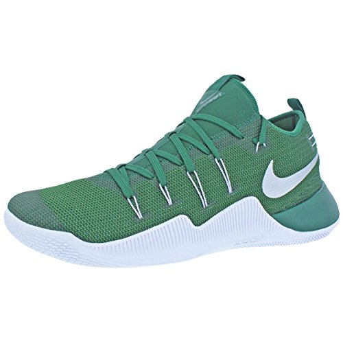 purchase cheap 51c1b ef34a ... mid top nike zoom 95c4b 9d5f5  spain mesh shoes metallic up tb green promo  hypershift white mens basketball silver nike lace gorge