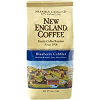 New England Coffee Blueberry Cobbler Coffee, 11 oz