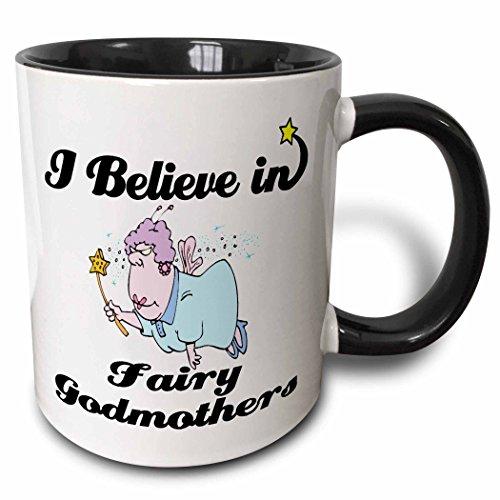 3dRose mug_105149_4 Believe Fairy Godmothers