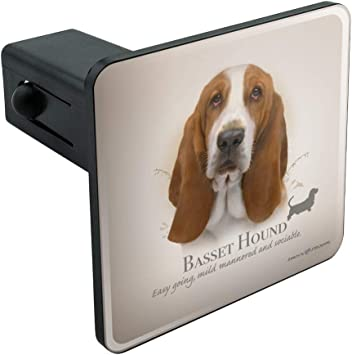 2 Tow Trailer Hitch Cover Plug Insert Truck Pickup RV Dog Graphics and More Beagle