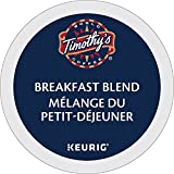 Timothy's Breakfast Blend Single Serve K-Cup pods for Keurig brewers, 18 Count