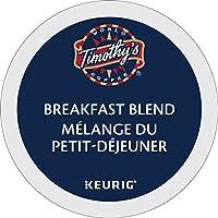 Timothy`s Breakfast Blend Single Serve Keurig Certified K-Cup pods for Keurig brewers, 30 Count