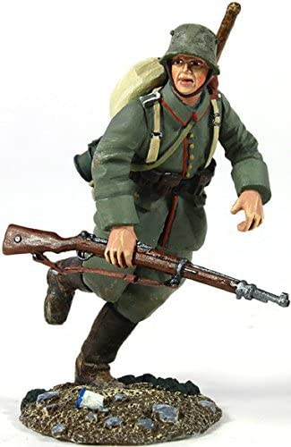 W. Britain Selling and selling 23058 1916-18 Max 85% OFF Running German Infantry