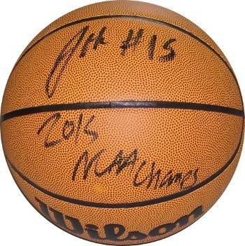 Jahlil Okafor signed Wilson NCAA Indoor Outdoor Basketball 2015 NCAA Champs   15 (Duke 71a25d8ec