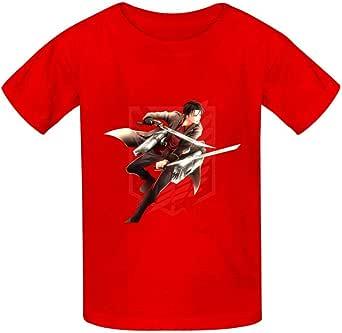 Shang Yi A-ttack en Ti-tan Camisetas Niños Niñas Impreso Gráfico Camiseta Niños Manga Corta