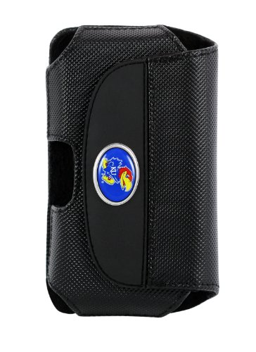 Fuse Premium Leather Cell Phone Case With College Logo - Kansas - 7139