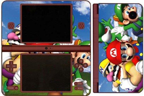 Dsi Xl Skin - Super Mario 3D World Game Skin for Nintendo DSi XL Console