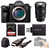 Sony a9 Full Frame Mirrorless Camera (ILCE9/B) + Sony FE 24-70mm f/2.8 GM + 128GB Sony LCSBP3 DSLR Backpack