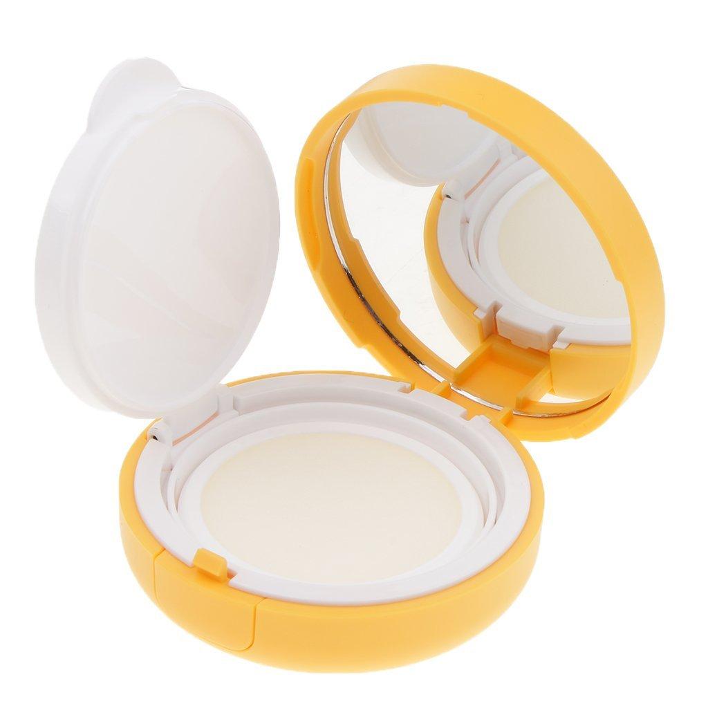 D DOLITY Caja De Almacenamiento De Lujo Vacía De Viaje Caja De Maquillaje De Contenedor De Crema BB - 72 x 33 mm