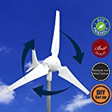 WINDMILL-600W-12V-24V-50A-25A-Wind-Turbine-Generator-kit-MPPT-charge-controller-included-Amp-Volt-Watt-display-automatic-and-manual-braking-system-DIY-installation