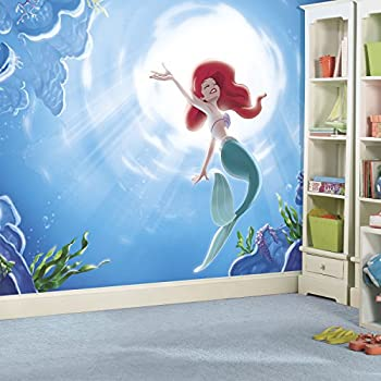 Marvelous RoomMates JL1370M Disney Princess The Little Mermaid  Part 9