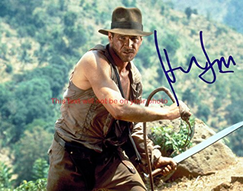 Indiana Jones and the Temple of Doom Harrison Ford Autographed 8x10 Glossy Photo
