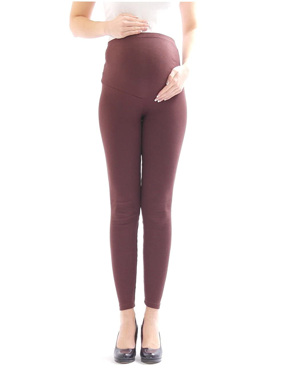 Maternity Jeans Maternity Leggings Full Length Stretch Leggings Women's Cotton
