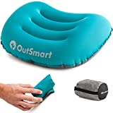 Inflatable Camping Pillow - the Ultralight OutSmart Camp Pillows Provide Comfortable Sleeping when Traveling, Backpacking or Camping while Packing Light - 2.75 oz