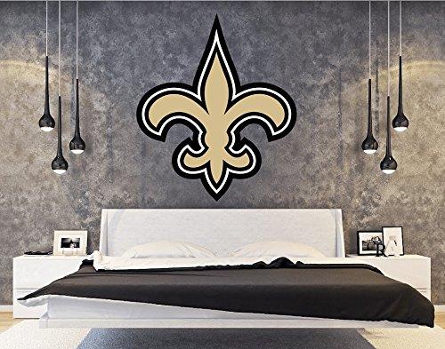 - New Orleans Saints sticker, New Orleans Saints decal, Saints decal, Saints sticker, New Orleans Saints home decor, Orleans Saints bumper sticker, Saints NFL sticker, Saints bumper decal vmb15 (5x5)