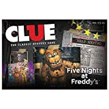 five nights of freddy merchandise - USAopoly Clue Five Nights at Freddy's Board Game | Based on Five Nights at Freddy's Video Game | Officially Licensed Five Nights at Freddy's Merchandise | Themed Classic Clue Game
