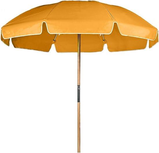 7.5 ft. Avalon Fiberglass Heavy Duty Commercial Grade Beach Umbrella